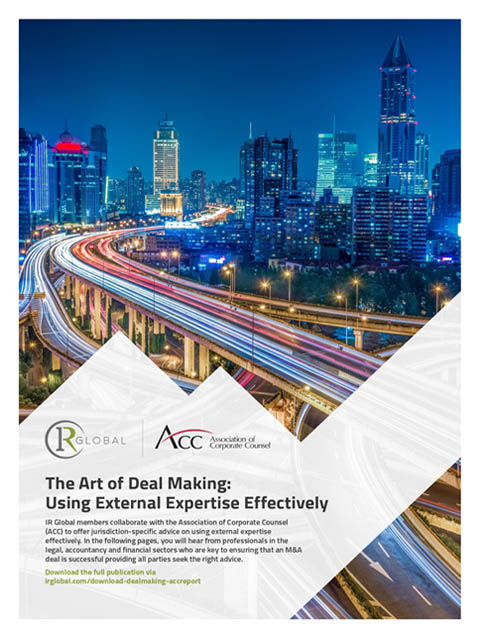 The art of deal making: Using external expertise effectively